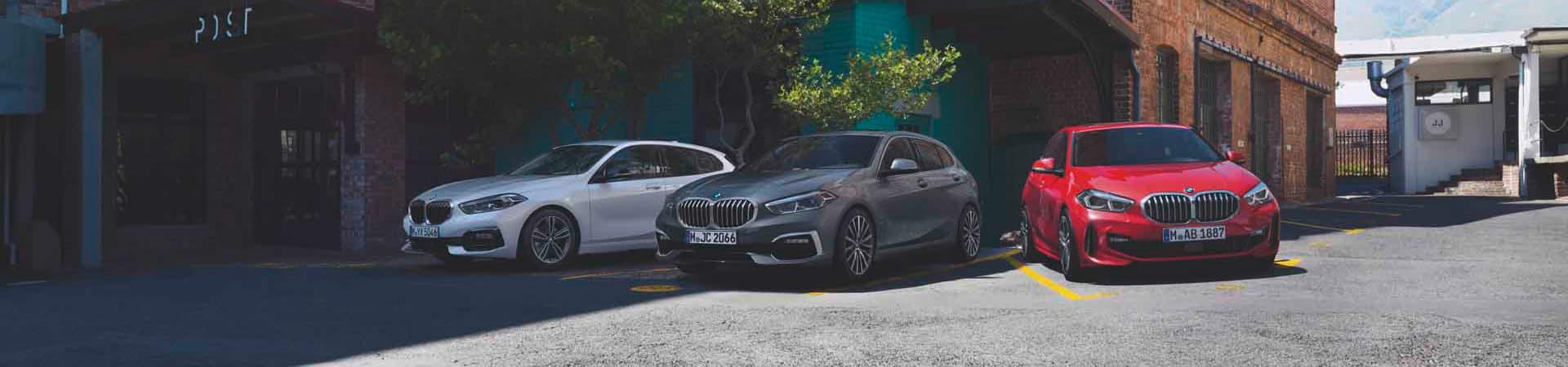 BMW 1er Banner