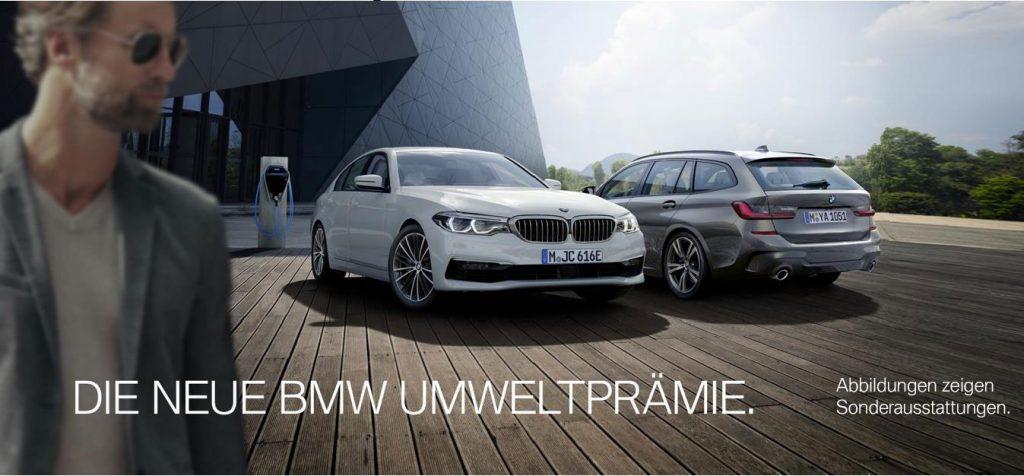 Die neue BMW Umweltprämie