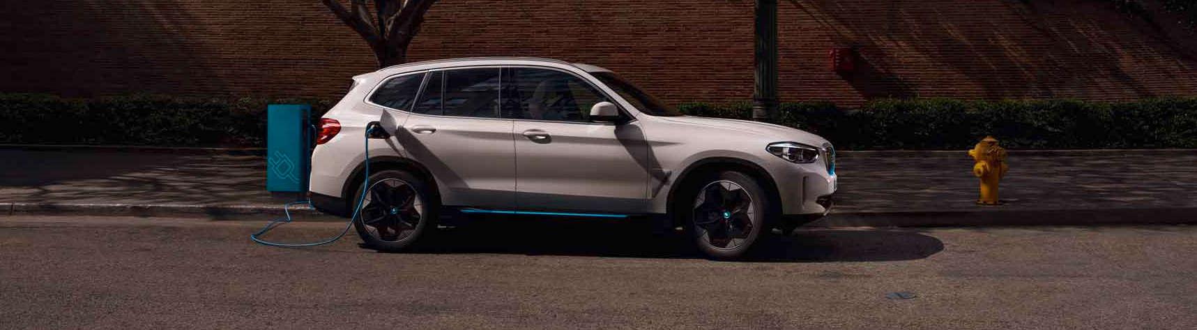 BMW iX3 Banner