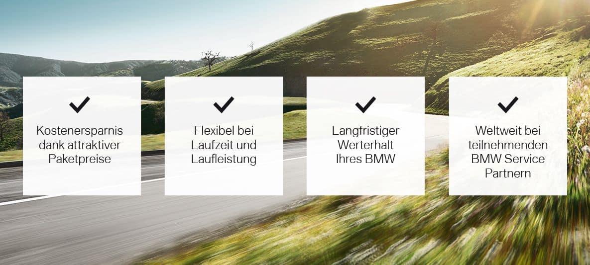 BMW Service Inclusive Vorteile