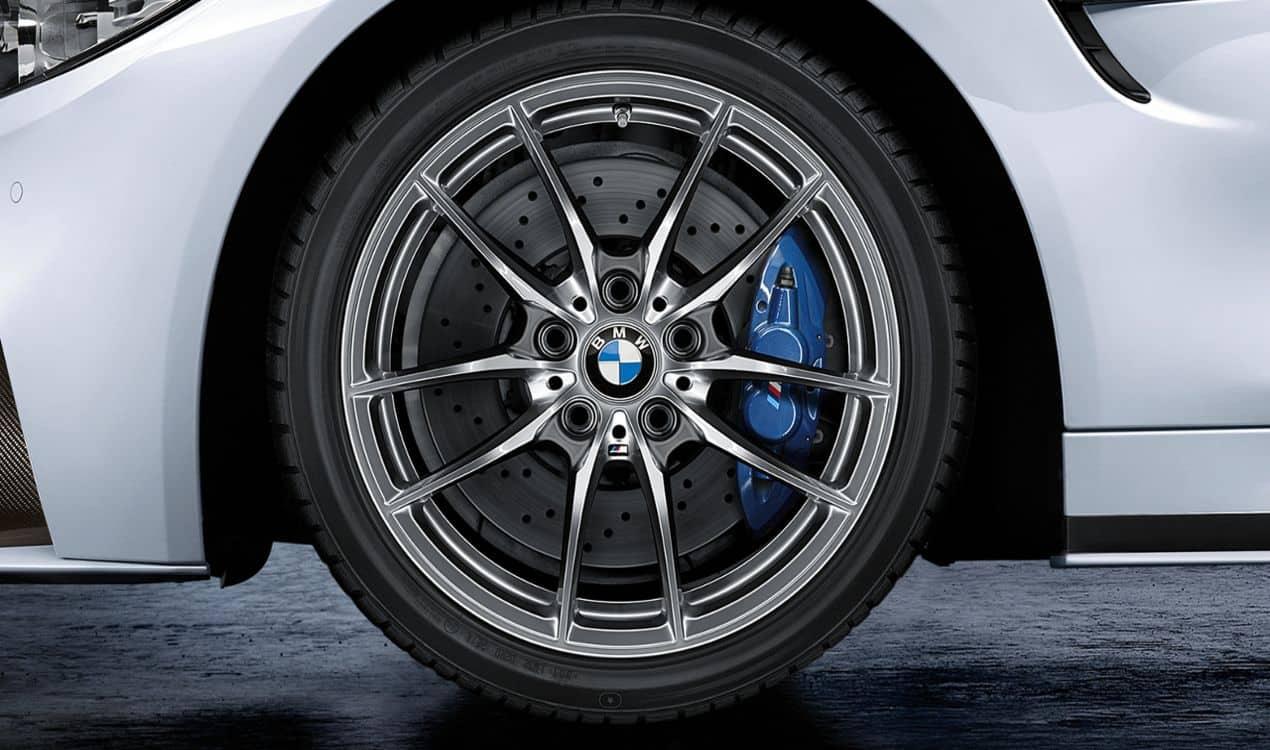 BMW Leichtmetallrad V Speiche 640 M Dekorsilber Winterkomplettrad