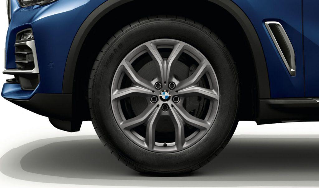 "19"" BMW Leichtmetallrad V-Speiche 735 Ferricgrau, Winter-Komplettrad"