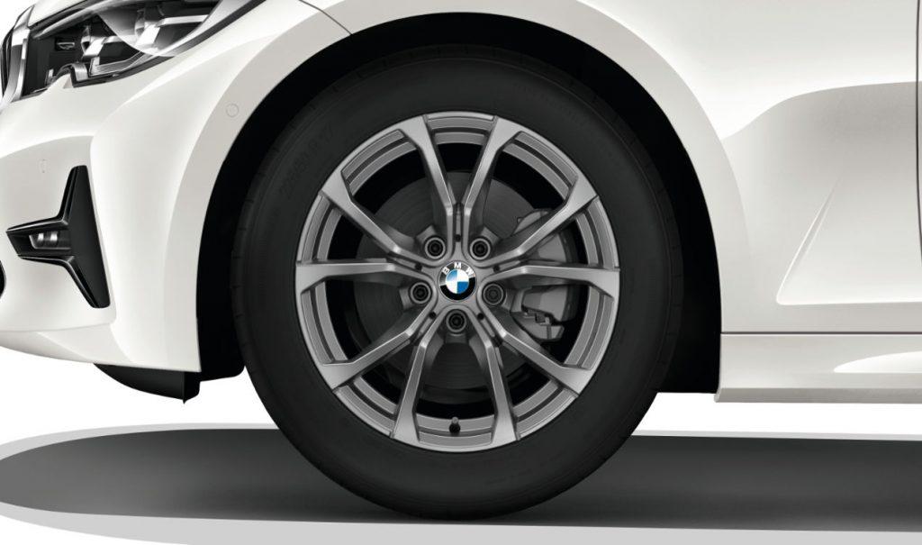 "17"" BMW Leichtmetallrad V-Speiche 776 Ferricgrau, Winter-Komplettrad"