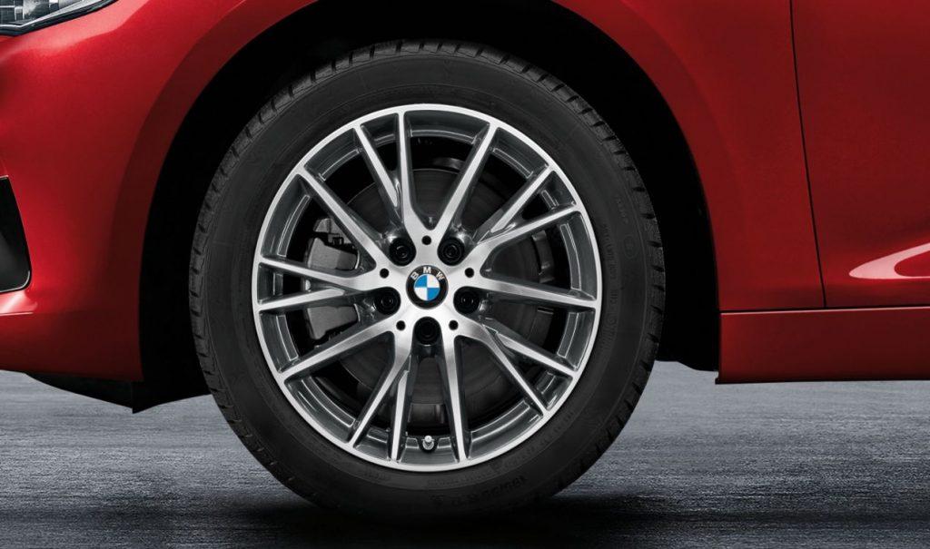 BMW Winterkomplettrad Y-Speiche 489