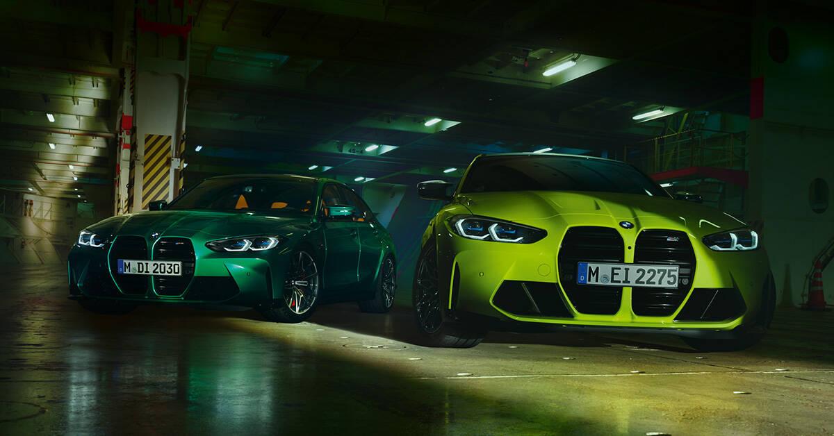 BMW M3 BMW M4