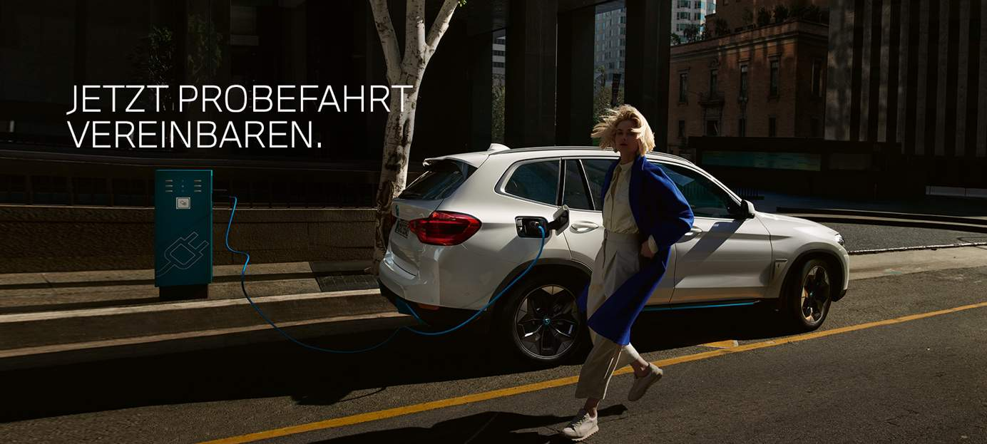 BMW iX3 Probefahrt