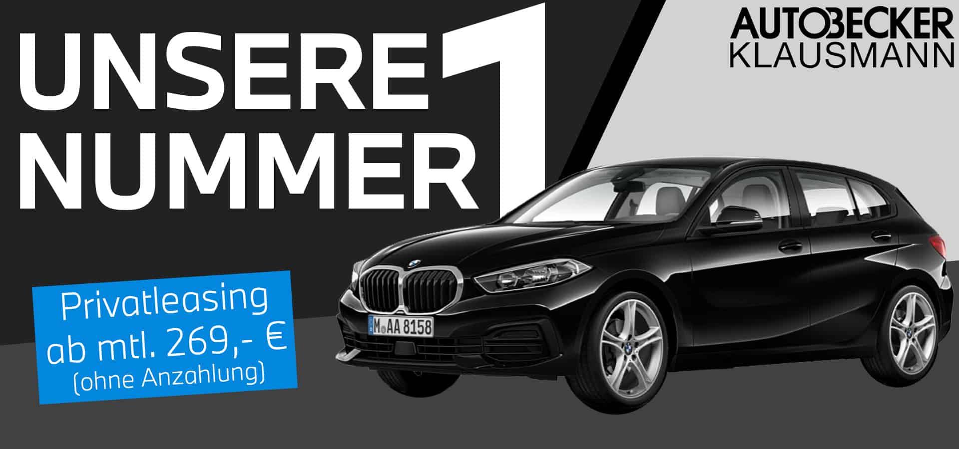 BMW 1er Leasingangebot