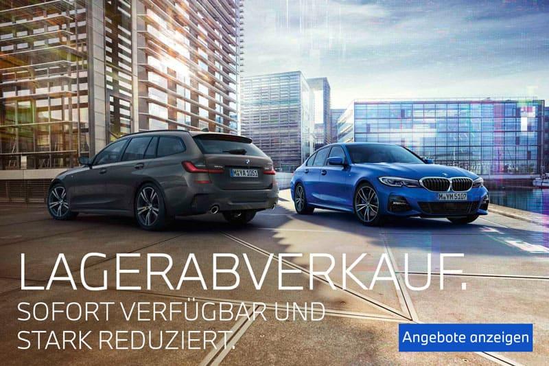 BMW Lagerabverkauf Pop-Up