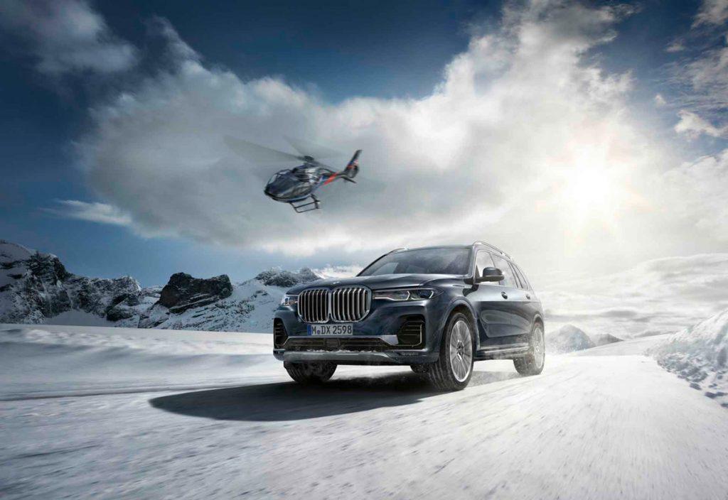 BMW X7 Winter